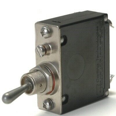 Heavy Duty Automotive 20 Amp Toggle Switch Circuit Breaker With #10 Screw Terminals