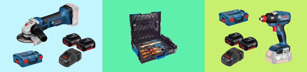 Aktion ansehen Bosch Werkzeug Sets mit Gedore BOXX  jetzt bis zu -44% ggü. UVP