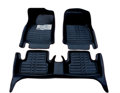 For Ford Explorer Floor Mats Front Rear Carpet Auto Mat All Weather Waterproof