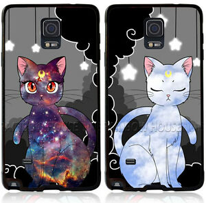 new concept 9495e 7b0ff Sailor Moon Artemis and Luna cat Phone Case For Samsung Galaxy S8+ ...