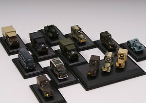 Oxford-MILITARE-pressofusione-1-76-OO-Gauge-Models-JEEP-CAMION-Navy-AUSTIN-bedfords-NUOVO