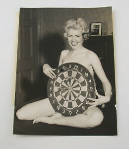 PAUL POPPER vintage Photo Foto 1959 Susan Cox actress Silbergelatine