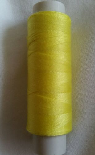 New High Quality Lemon Yellow 180m Sewing Cotton Thread Hand Or Machine   .