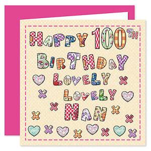 Image Is Loading Nan Happy Birthday Card Age Range 50 100