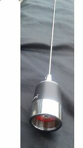 Details about VHF 222 mHz NMO Stainless whip BR-162 2 Mobile 200-260  Browning ANTENNA 3 db Ham