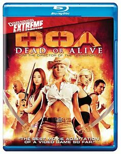 DOA : DEAD OR ALIVE -  Blu Ray - Sealed Region free for UK 883476028217