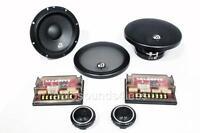 Massive Audio Zk6 400 Watts 6.5 2-way Car Component Speaker System 6-1/2