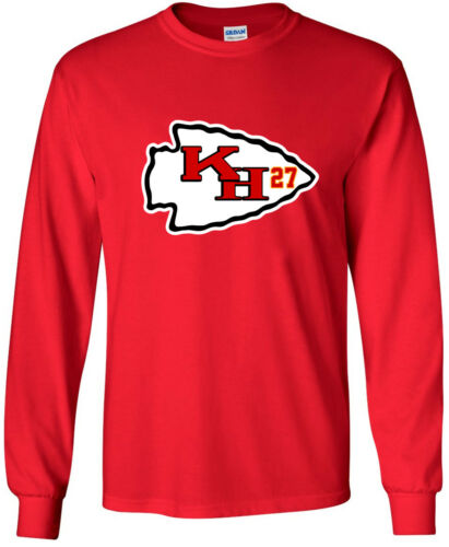 "Kareem Hunt Kansas City Chiefs /""LOGO/"" jersey T-shirt Shirt"