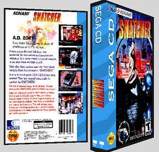 Snatcher - Sega CD Reproduction Art DVD Case No Game