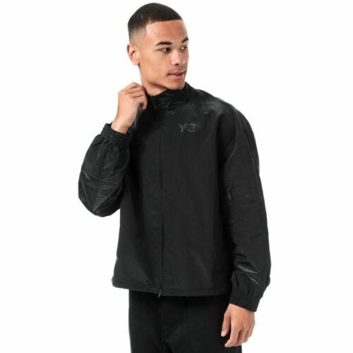 Men/'s Y-3 Classic Shell Track Jacket in Black