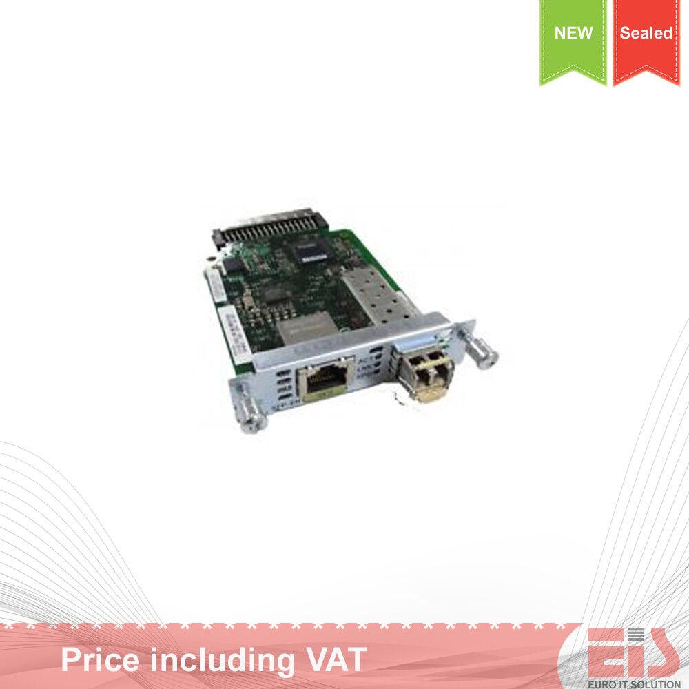 SFP Enhanced High Speed WAN Card Cisco EHWIC-1GE-SFP-CU 1-Port GE