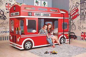 Etagenbett London Bus : Etagenbett londonbus autobett kinderbett kindermöbel spielbett