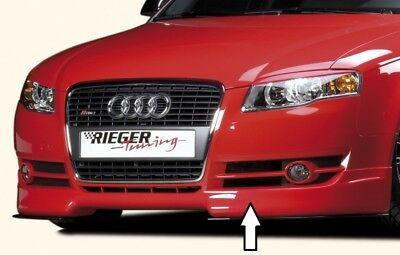 : 04.00- WGR Rieger Frontspoilerlippe schwarz matt für Ford Galaxy ab Modell