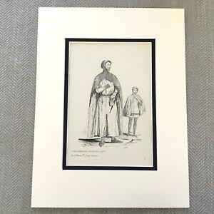 1900 Antico Stampa Storico Moda Costume William De La Palo Conte Di Suffolk
