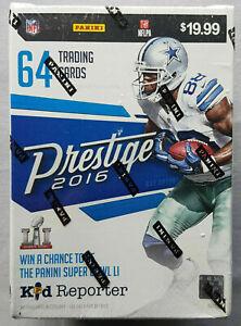 Panini-Prestige-Football-Blaster-Box-NFL-2016-Trading-Cards-Sammelkarten