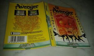 THE AVENGER GREMLIN GRAPHIC PORTADA ORIGINAL ONLY COVER AMSTRAD CPC USED