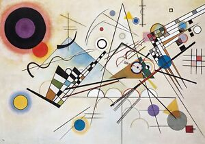 34x24in Poster Wassily Kandinsky - Composition VIII