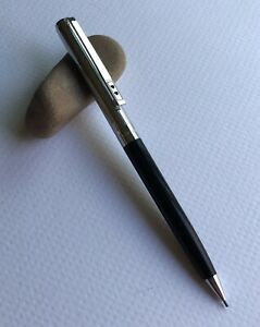 Vintage-Paper-Mate-Double-Heart-Mechanical-Pencil-Working-EDC-Black-Barrel-USA