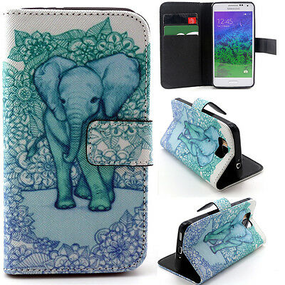 Green Elephant Luxury Wallet Card Leather Case Cover For Samsung Sony Alcatel YH