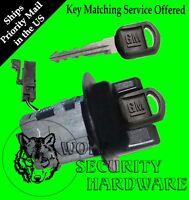 Chevy Cavalier 96 (some 97) Passlock Ignition Key Switch Lock Cylinder 2 Gm Keys