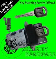Chevy Cavalier 96 (some 97) Passlock Ignition Key Switch Lock Cylinder 2 Gm Keys