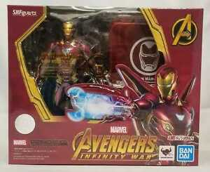 S.H Figuarts Avengers Infinity War Iron Man MK50 Nano Weapon Set Action Figure