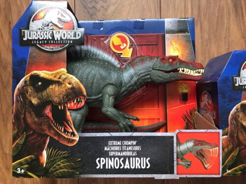 JURASSIC WORLD Legacy Collection SPINOSAURUS /& T Rex Dinosauro Combo Park