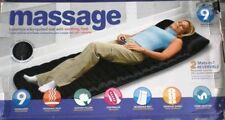 Full Body Massager,Vibration Heat Massage Bed With 9 Massager