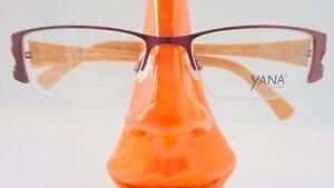 Beauty & Gesundheit Nachdenklich Brille Halbrand Metallgestell Mit Plastik Rot Aprikot Markenfassung Schmal Gr M