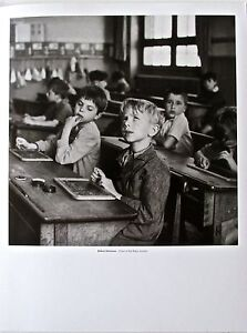 Robert-Doisneau-CLOSE-TO-THE-RIGHT-ANSWER-14x11-Offset-Lithograph-Unsigned