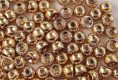 25x BILLE TUNGSTENE .31g// TUNGSTEN BEAD 3.5mm montage mouche nymph fliegen scud