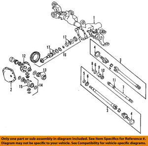 image is loading jeep-chrysler-oem-84-01-cherokee-front-axle-