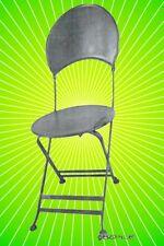 Gartenstühle 4 Balkon Terassen Eisen klapp  Außen vintage  Garnituren Sitzgruppe
