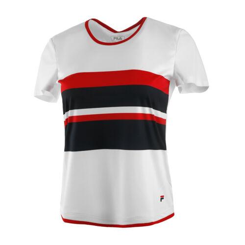 Fila Damen Samira Shirt  T-Shirt weiß NEU