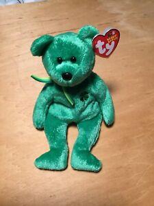 9d199bc8c3a TY Beanie Baby - Dublin the Irish Bear (8.5 inch) - MWMTs Stuffed ...