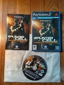 ???? Jeu Tom Clancy's Splinter Cell Pandora Tomorrow Sony PS2 Playstation 2
