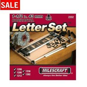 Sign Making Letter Engraving Jig Set Maker For Router Wood ...