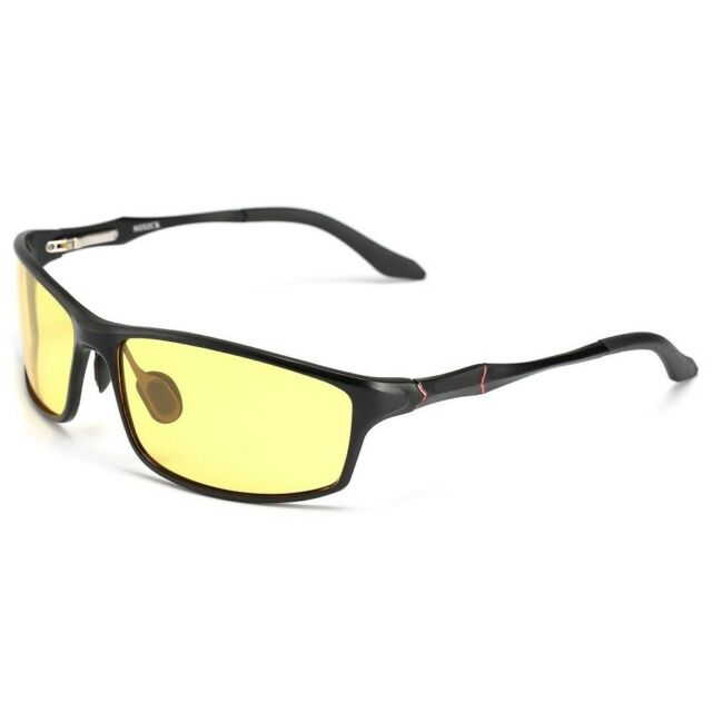 ac8e6bce5a Polarized Lens Night Vision Driving Car Glasses Anti-Glare for Men Day  Evening