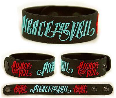 PIERCE THE VEIL Rubber Bracelet Wristband Vic Mike Fuentes