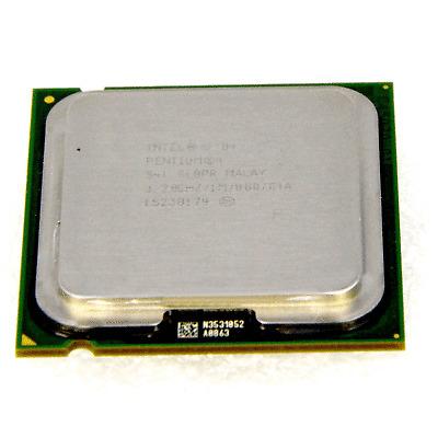 Intel Pentium 4 CPU 3,2 GHZ 1024kb Cachette 800 FSB Sl8pr Prise Plga775 64bit