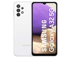 "SAMSUNG GALAXY A32 5G AWESOME WHITE 128GB ROM 4GB RAM DUAL SIM DISPLAY 6.5 """