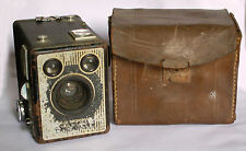 Rare-1st-Ed-1947-Vintage-London-KODAK-SIX-20-BROWNIE-E-620MM-Film-Box-Camera