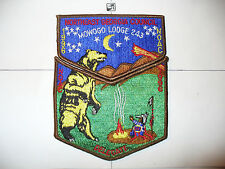 OA Mowogo Lodge 243,S-38, 1996 NOAC, DEL,2 Part Set,Northeast Georgia Council,GA