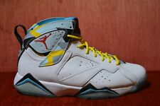 123b738e01fb12 item 4 WORN TWICE Nike Air Jordan 7 Retro N7 White Ice Blue 744804-144 Size  9 -WORN TWICE Nike Air Jordan 7 Retro N7 White Ice Blue 744804-144 Size 9