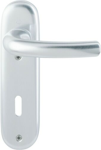 Hoppe kurzschild Tokyo Parure BB exécution aluminium naturel 1710//273kp
