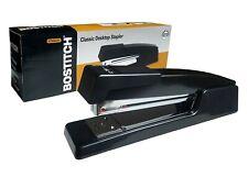Bostitch B440 Executive Stapler Quality Durability Staple 20 Sheets Black New
