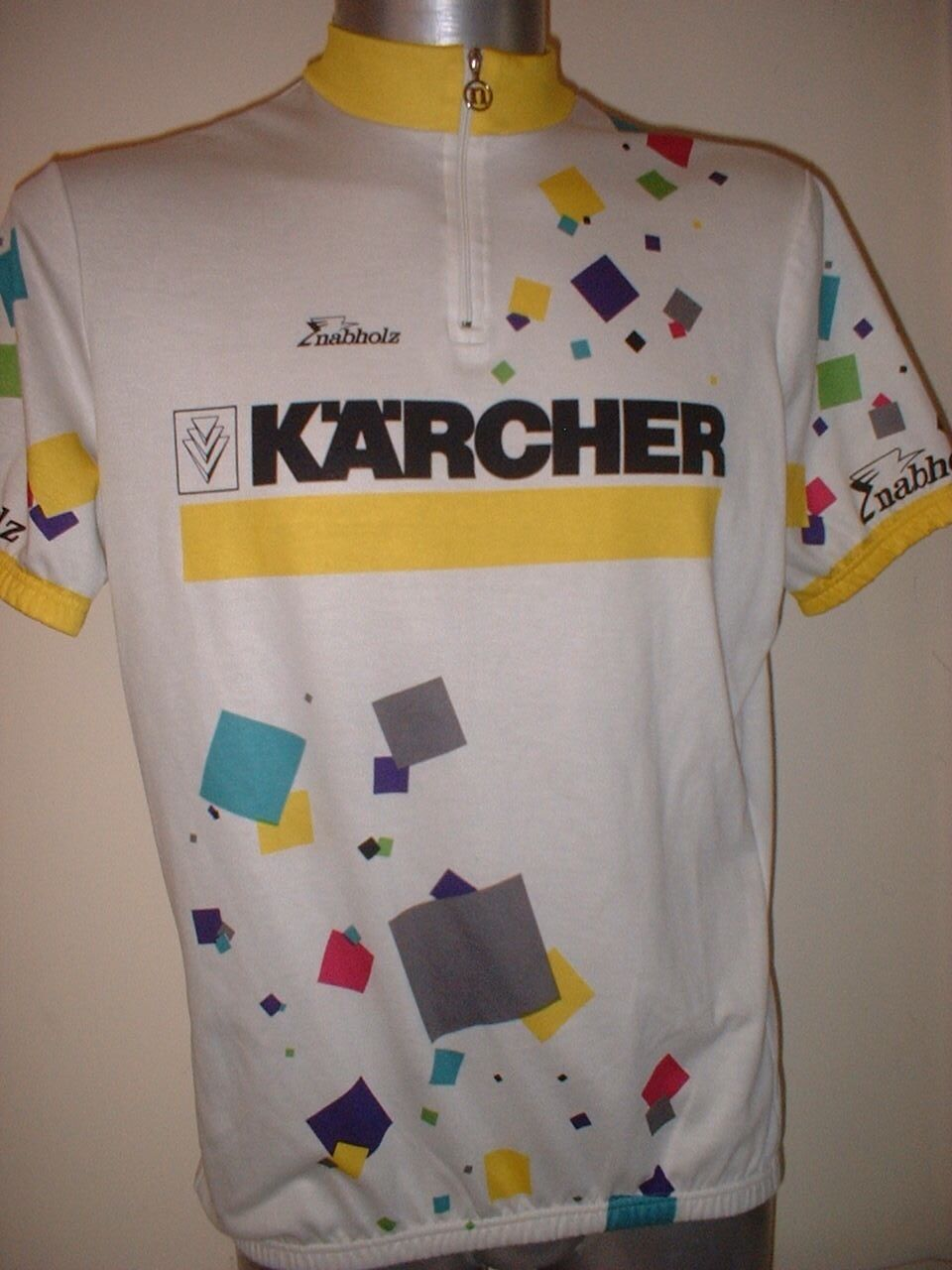 Karcher Nabholz Shirt Jersey Adult XL Cycling Cycle Bike Ciclismo Mountain Top