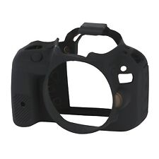 easyCover Pro Silicone Skin Camera Armor Case to fit Canon EOS 100D DSLR Black