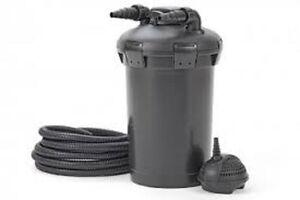 Pontec pondopress 15000 pressurised pond filter and pump for Pond pump and filter sets