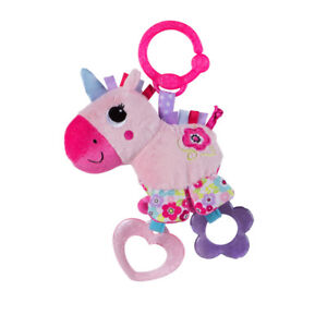 Bright-Starts-Sparkle-N-Shine-Unicorn-take-along-Baby-toy-carriers-strollers